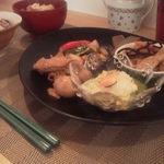 ジョルジュ - OH! SO-ZAI(お惣菜)プレートランチ★内容は旬の野菜料理で日によって変わります。