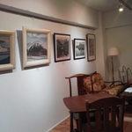 ジョルジュ - ギャラリー展示の内容によって、店内の雰囲気の変化も楽しめますよ♪