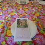 Chezやまのべ - テーブルセッティング