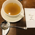 かまやカフェ・デュ・レヴァベール - コンソメスープ