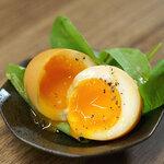半熟卵の薫製