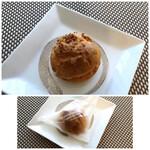 ラビアンローズ - ◆シュークリーム(140円:税別)・・軽めのクリームで、昔パン屋さんで買った品のような懐かしい味わいだとか。