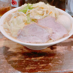濃菜麺 井の庄 - 濃菜麺 野菜大盛り