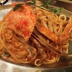 142228405 - 渡り蟹のトマトクリームパスタ