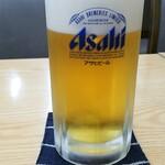 味のふたば - 生ビール:490円