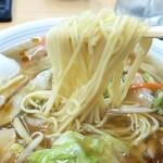 味のふたば - タンメンの麺