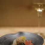そま莉 - 煮物 京かぶら鶏団子