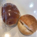 にこにこぱん - 料理写真:バターロール  カルピスバターサンド