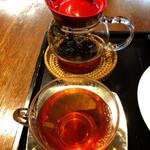 カフェ叶匠寿庵 - 紅茶はアールグレイ