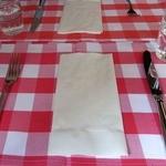 ビストロ グルマン - テーブルセッティング