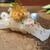 天寿し - 料理写真:店の代名詞、海胆とトビコと錦胡麻の乗った烏賊