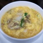 せいぶ農産発 焼肉DINING まるぎゅう - カルビスープ