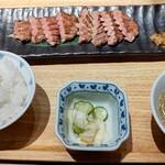 炙り牛たん 万 - 料理写真:◆極み牛たん焼き定食【8切れ】◆2280円♪
