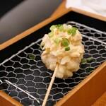 日本酒バル 富士屋 - 牡蠣天~ガリタルタルソース~