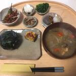 カフェ ジッカ - 料理写真:朝食セット:1000円