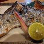 喜多郎寿し - 「太刀魚塩焼き(1,000円)」