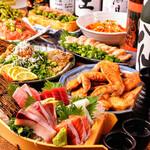 全116品食べ飲み放題 個室居酒屋 酔っ手羽 -