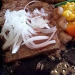 るーらる - ●和風ステーキ定食 1450円:お肉あっぷ●