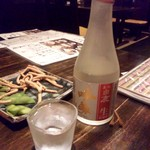禅味 一茶庵本店 - 冷酒.JPG