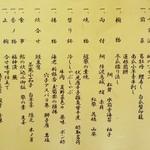 熱海荘 - 本日の御献立(2012年8月)