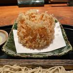 紗羅餐 - 桜海老のかき揚げ