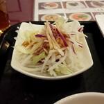 東蘭 - 大根のサラダ
