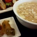 東蘭 - スープ ザーサイ