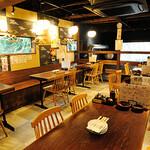 闘鶏次郎 - テーブル