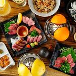 闘鶏次郎 - 集合料理(イメージ)
