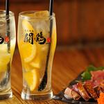 闘鶏次郎 - 熟成 ちゅーはい(バレンシア・グレープフルーツ)