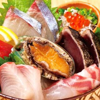 これを食べてください。魚盛り(2~3人前)あります。