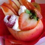 14227176 - 桃のケーキ?