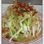 らーめん 辰屋 - 辰醤油らーめん(小)650円 唐辛子コール 2012.8