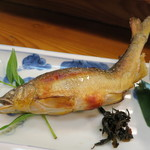 第二力酒蔵 - 鮎塩焼