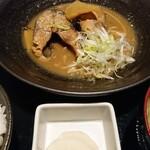 Kanzenkoshitsuwashokukoshitsuizakayadaimon - 手作りさば味噌煮定食  ¥800(税込)