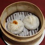 JOE'S SHANGHAI New York - Joe's特製 蟹肉入り小籠包、豚肉小籠包