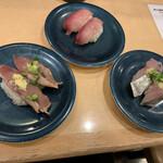 寿しの魚常 - カツオ・ブリ・アジ