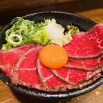 肉タレ屋 - ローストビーフ丼♡ コレ食べに来たんだよね