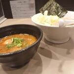 つけ麺 五ノ神製作所 - 海老つけ麺味玉