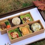 シャトー・メルシャン ワイナリー - 料理写真:ミルプランタンさん製のペアリングボックス