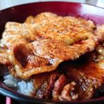 炭焼豚丼 空海 - ロース豚丼①