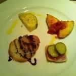 リストランテ ラヴィータ - 前菜盛り合わせ