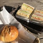 La・sante - サンドイッチ・くるみパン♪