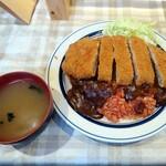 レストラン香港 - トルコライス(味噌汁付き)¥700