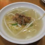 新台北 - 担仔麺(ターミィ)150円