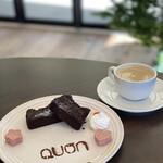 久遠チョコレート - ガトーショコラとコーヒー
