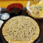 饕餮庵 - 料理写真:天ぷらセイロ(1300円)