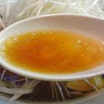 14231484 - 醤油ラーメン スープアップ