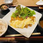 宮崎料理 万作 - チキン南蛮定食 1,280円