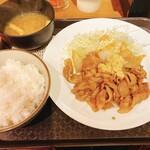 笑姜や - 生姜焼き